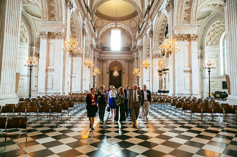 St Paul's Summer Soiree, organised by The Business Narrative