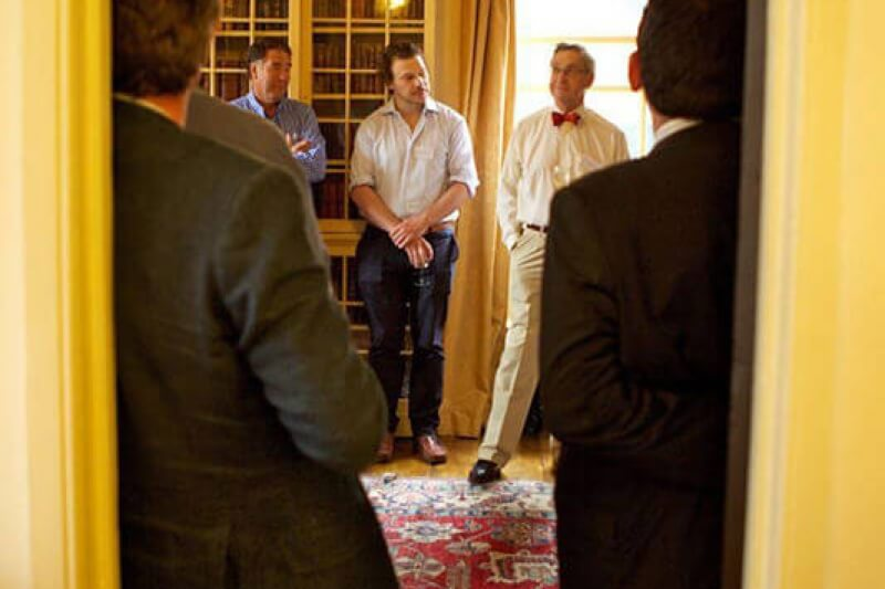 A corporate event at Dr Johnson's House, organised by The Business Narrative