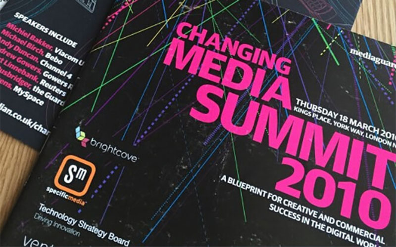 The Guardian Changing Media Summit