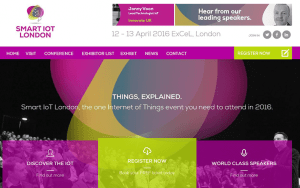 Smart IoT London – content curation for major confex