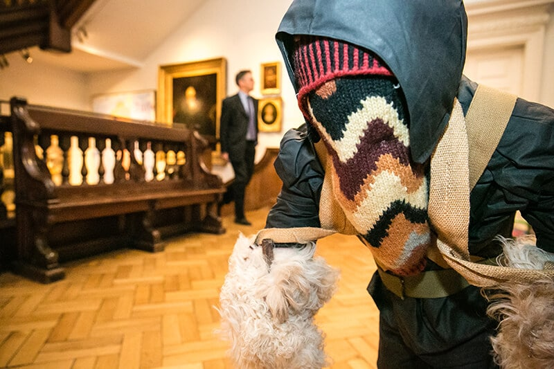 Silk Party at The Foundling Museum in Bloomsbury
