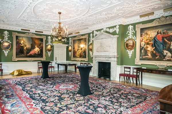 Interior of The Foundling Museum in Bloomsbury