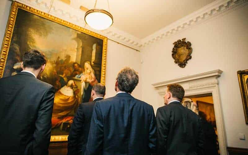 A Fintech Reception at London's Foundling Museum