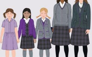 What can business brands learn from my old school's uniform / brand update?