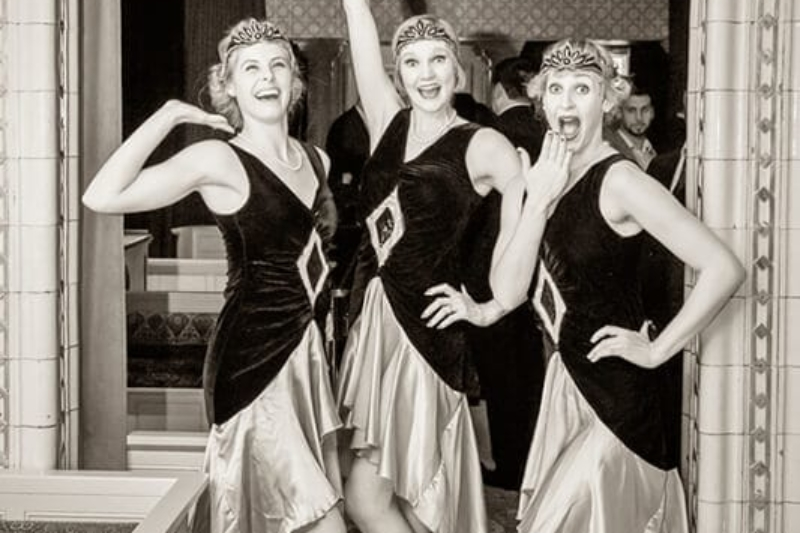 The Roaring Twenties event at London's Victorian Bath House