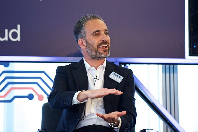 Matt Webb at The Times/Sunday Times Inaugural Tech Summit, London, November 2017