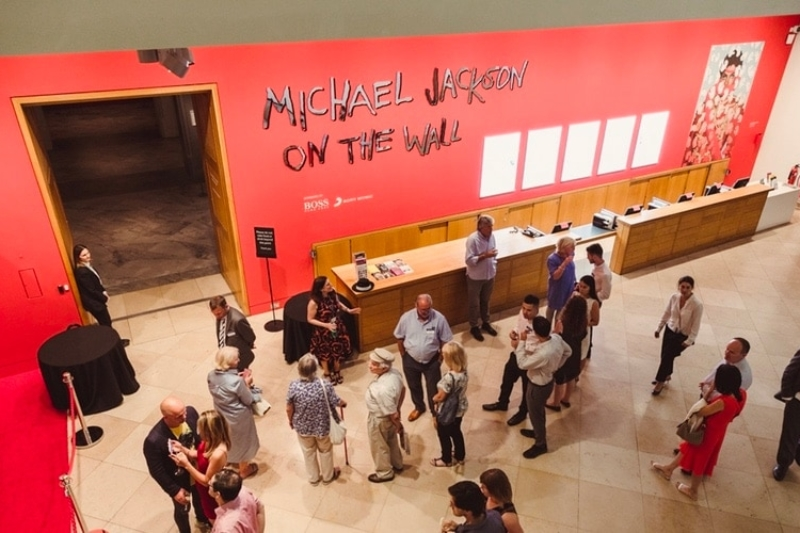National Portrait Gallery Party with Michael Jackson: On The Wall private view