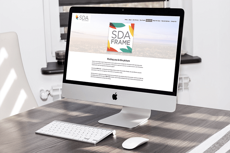 SDA LLP Actuaries Website