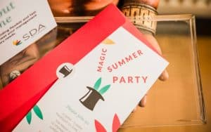 Professional Services Magic Summer Party